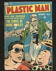 Plastic Man # 38 Good Cond.