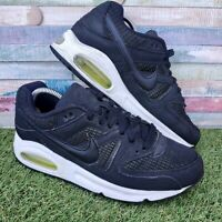 Nike Air Max Command Ladies Trainers UK5.5 US8 EU38 Black White Retro 397690-022