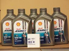 Shell Advance Ultra 4T 10W-40 / UFI Ölfilter Ducati 900 S S2 SS ( Patrone )