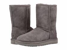 Para Mujeres Zapatos Botas Ugg Clásico Corto II 1016223 Gris 5 6 7 8 9 10 11 * Nuevo *