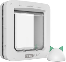 SureFlap Microchip Pet Door Connect with Hub Bundle No Collar or Tag Required