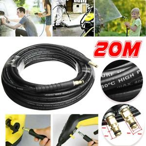 20M High Pressure Washer Extension Hose For Karcher K2 K3 K4 K5 K7 K Series UK