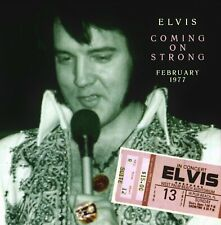 RARE CD IMPORT ELVIS PRESLEY- COMING ON STRONG - ON TOUR 1977 - SON PARFAIT