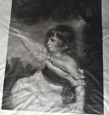 Joshua REYNOLDS MASTER HARE  Vellum procédé PETIT 1890 50cm