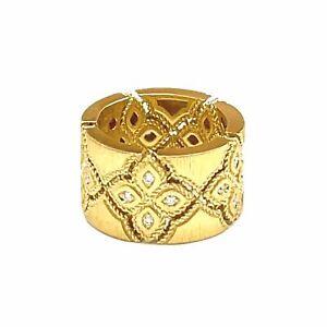 Roberto Coin Venetian Princess Diamond Ring