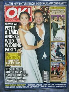 OK! MAGAZINE. Issue 991. July 28 2015. Peter & Emily Andre's Wild Wedding Party.