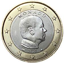 1 EURO MONACO 2020 - PRINCIPE ALBERTO II - UNIFICATO 8.20 - FDC UNC -