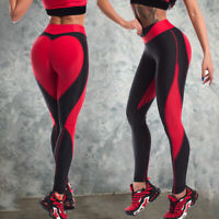 Womens Yoga Gym Workout Trousers Leggings Fitness Jogging Running Sports Pants