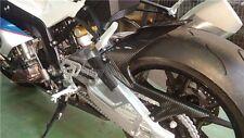 BMW S1000RR 2009-2016 S1000R 2014+ Rear Hugger Chain Guard Full Carbon Fiber