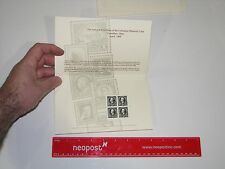 BEP Souvenir Card - 1995 Columbus Philatelic $1 Perry Stamp
