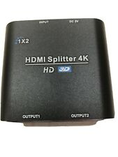 HDMI 4K/3D Splitter (1 in, 2 out)