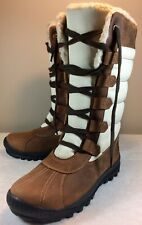 NEW Timberland Women's MT. Hayes Tall WATERPROOF Boots Leather Size 8.5 6910B