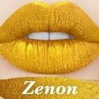 LIME CRIME VELVETINES VELVETINE ZENON METALLIC GOLD MATTE LIPSTICK COSMETICS NEW