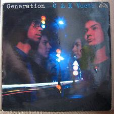 C&K VOCAL - GENERATION  !!! (listen) XTRA RARE CZECH JAZZ PROG ROCK  !!!