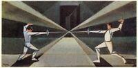 Fencers : Pippo Rizzo : Circa 1929 Archival Quality  Art Print