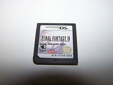 Final Fantasy IV 4 (Nintendo DS) Lite DSi XL 3DS 2DS Game
