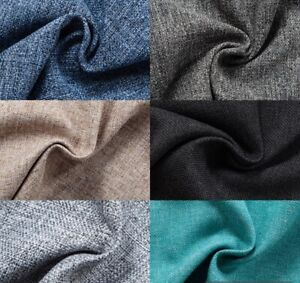 "Matiz Premium Quality Material-Upholstery Curtain Fabrics Linen 57"" Width 1.44m"