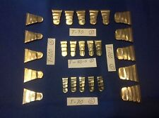 25 METAL WEDGES 5 EA OF T-70, T-80-S, T-90, T-100 & T-110 Wood Handles Axe Tools