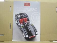 """CMC Blatt, Ferrari 250 Testa Rossa """"Pontoon Fender"""" deutsch, 2 Seiten"""