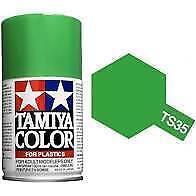 Bombe de peinture Tamiya Vert Pré Brillant Ts-35
