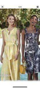 HOBBS Linen Dress Immaculate 16