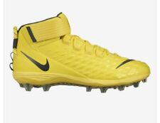 New Men's Nike Ah4000-600 Force Savage Pro 2 Td Football Cleats Sz 10.5 Yellow