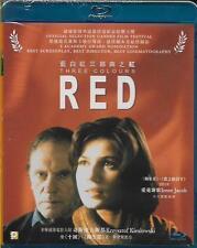 Three Colours Red Blu Ray Kieslowski Krzysztof Irene Jacob French NEW Eng Sub R1