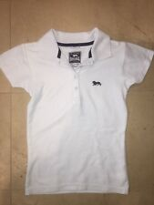 Kids Lonsdale Polo Top 7-8 Years Light Blue