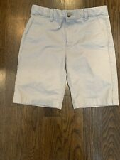 Boys Vineyard Vines Shorts Sz 12 Grey