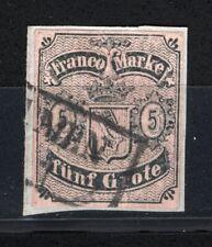 Altdeutschland Bremen Mi.-Nr. 2 auf Briefstück Mi. 400,00