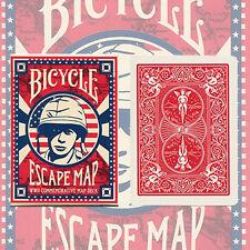 Carte Bicycle ESCAPE MAP formato poker - nuove sigillate