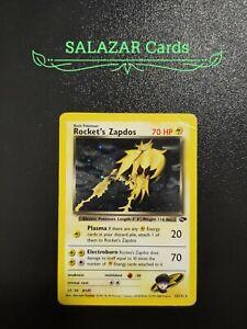 Pokemon Rocket's Zapdos Holo Gym Challenge 15/132