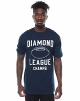 Diamond Supply Co. Stadium Tee Navy Blue White Men's
