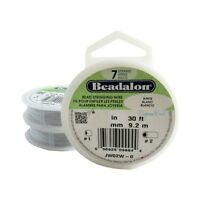 Beadalon Bead Stringing Wire 7 strand Good Flexibility .012-.015-.018 30 ft