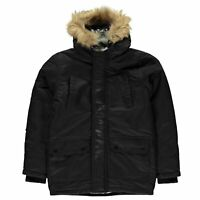 Airwalk Parka Jacket Youngster Boys Coat Top Full Length Sleeve Lightweight