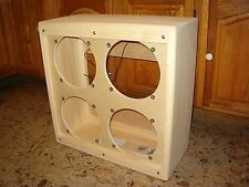 TRM 410 vintage tweed style 4 x 10 guitar extension speaker cabinet project.