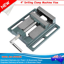 """4"""" Drill Press Vice Bench Clamp Tool Woodworking Vise Drilling Machine SGG AU"""