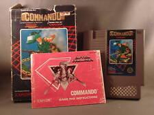 Nintendo NES Capcom Commando Video Game
