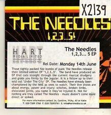 (CP125) The Needles, 1,2,3...5! EP - 2004 DJ CD