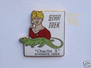 Star Trek Charlie X Original Series Episode Pin Badge STPIN7908
