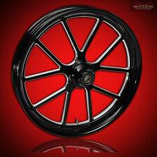 "Harley Davidson 23"" inch Custom Front Wheel ""Matrix"" Custom Harley Wheels"