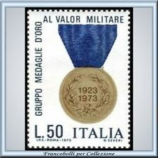 1973 Italia Repubblica Medaglie Oro Valor Militare 1240
