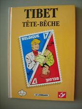Tibet Ric Hochet - Tete-Bêche CBBD 1998- Tirage limité à 2500 ex. et numéroté