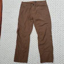 Arc'teryx Cronin Pants Outdoor Hiking Hieroglyph Brown Men's 36 x 32