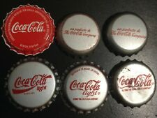 *S* SET OF 6 COCA-COLA BOTTLE CAPS FROM VENEZUELA