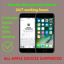 Apple MDM Bypass / Remote Management / iPhone / iPad / iPod All ios 13.5.1