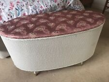 """More details for lloyds loom oval ottoman approx 3' 6"""" long. lovely condition."""