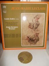 LECLAIR: Violin Concertos op.7 n° 3 4 6> Jodry Fontainebleau Werner / Arion ste