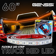 60 Inch LED Ultra Amber Waterproof Truck Cargo Bed Lighting Light Kit 5 Feet