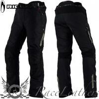 Richa Cyclone Gtx Negro Goretex Impermeable Pantalones de paseo MOTO NORMAL